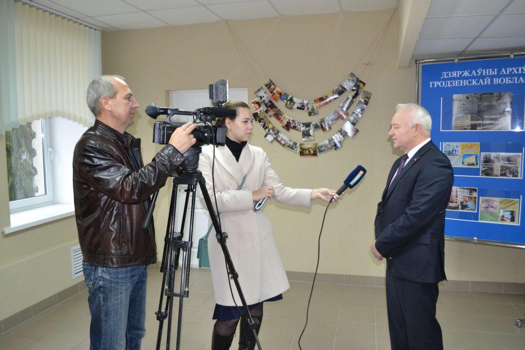 Интервью В.И.Кураша телеканалу Гродно+